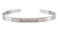 5mm Solid Stainless Steel Hashtag Cuff by Pink Box