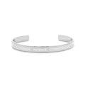 12 Grams Solid Sterling Silver Inspirational Bar Cuff By Pink Box