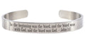 8MM Solid Stainless Steel Scripture Cuffs by Pink Box - Part 3