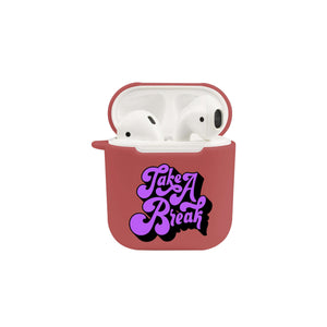 Soft TPU Airpod Protective Case - TAKE A BREAK