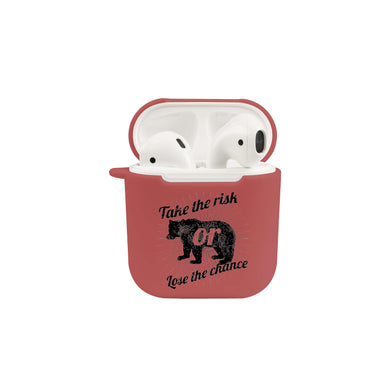 Soft TPU Airpod Protective Case - TAKE A RISK