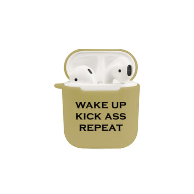 Soft TPU Airpod Protective Case - WAKE UP
