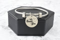 Solid Stainless Stainless Steel Frontline Appreciation Bracelets By Pink Box