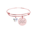 Inspirational Bangles Made With Swarovski By Pink Box