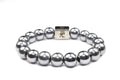 12mm Genuine Insignia Mens Stretch Bracelet