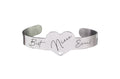 Inspirational Heart Cuff By Pink Box