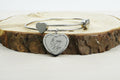 Inspirational Hearts Bangle by Pink Box