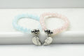 Crystal Friendship Bracelet Set By Pink Box