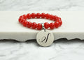 Mommy, Big Sis, Lil Sis Crystal Initial Bracelet By Pink Box
