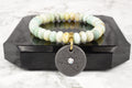 Quantum Lava Energy Bracelet with Swarovski by Pink Box
