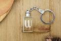 Light Up Initial Keychain by Pink Box