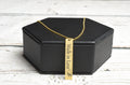 Vertical Inspirational Bar Necklace by Pink Box