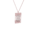 Love Note Necklace by Pink Box