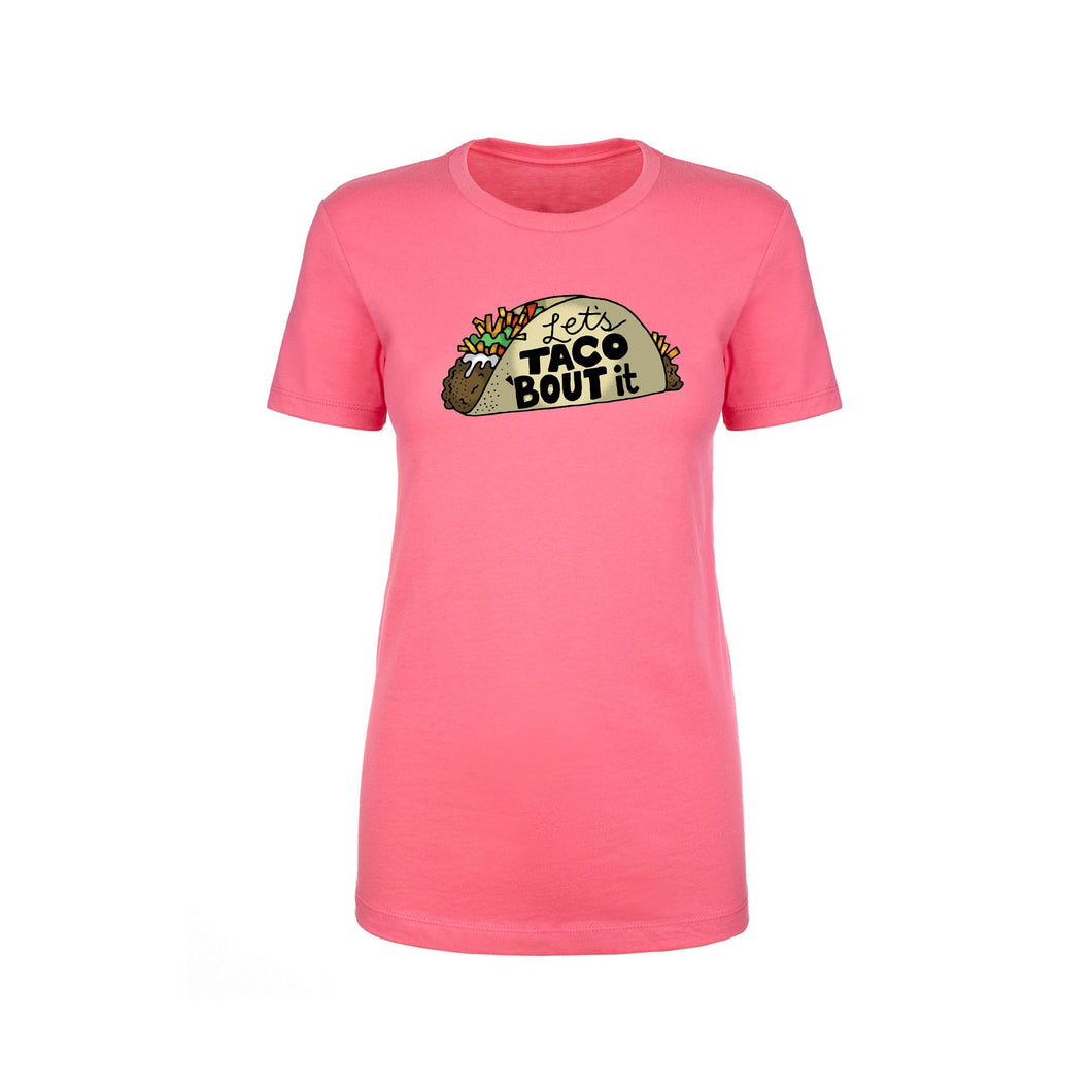 Inspirational Crew Tee by Pink Box - LET'S TACOBOUTIT