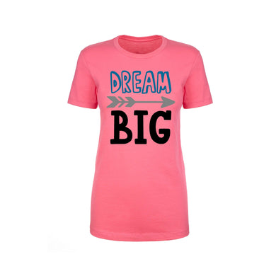 Inspirational Crew Tee by Pink Box - DREAM BIG