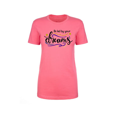 Inspirational Crew Tee by Pink Box - BE LED BY YOUR DREAMS