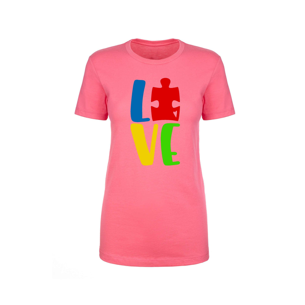 Inspirational Crew Tee by Pink Box - LOVE