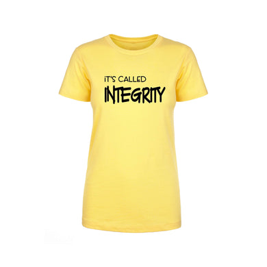 Soft Cotton Blend Inspirational Tee By Pink Box - INTEGRITY