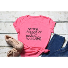 Fun Graphic Tee By Pink Box - SECRET ASSISTANT