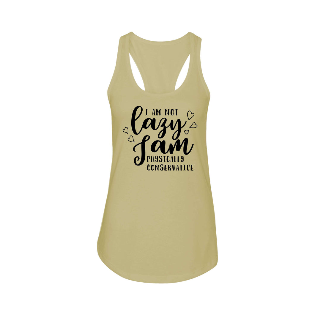 Ladies Racerback Tank - Multiple Options - Physically Conservative