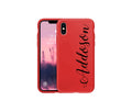 Personalized iPhone 11, 11 Pro, 11 Max, X, Xs, Xs Max, or XR Silicone Case