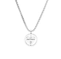 Rotating Heart Necklace by Pink Box