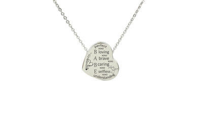 Beauty Of The Heart Necklace By Pink Box