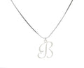 Solid Stainless Steel Intial Necklace By Pink Box