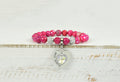 Natural Faceted Stretch Bracelet Made With Precision Cut Crystals By Pink Box