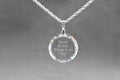 30mm Swarovski Inspirational Necklace by Pink Box