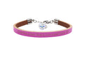 Genuine Leather Bracelet Made With Crystals From Swarovski by Pink Box