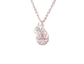 Symmetrical Tear Drop Necklace Made With Crytals from Swarovski by Pink Box