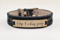Genuine Workout Motivational Watch Leather Bracelet By Pink Box