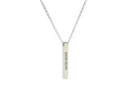 3D VERTICAL BAR INSPIRATIONAL NECKLACE BY PINK BOX