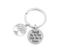 Stainless Steel Tree Of Life Keychain by Pink Box