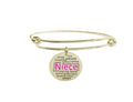 Colorful Inspirational Bangle By Pink Box