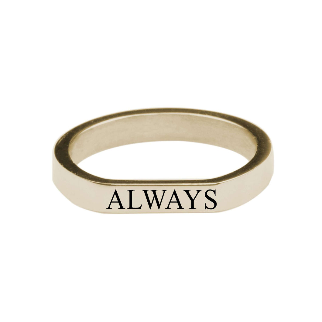 Always Comfort Fit Flat Ring