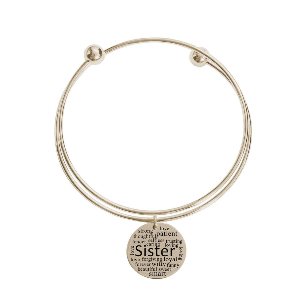 Double Layer Bangle - Sister