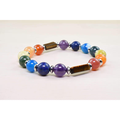 Genuine Healing Chakra Bracelet By Pink Box