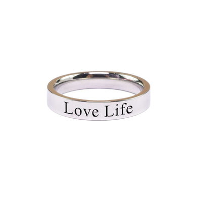 Love Life Comfort Fit Inspirational Band