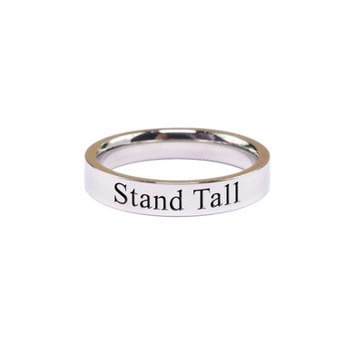 Stand Tall Comfort Fit Inspirational Band