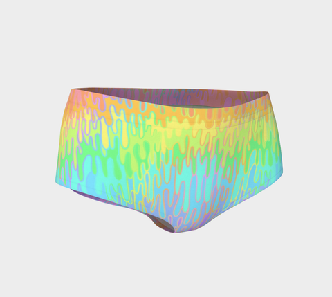 Rainbow Melt Booty Short