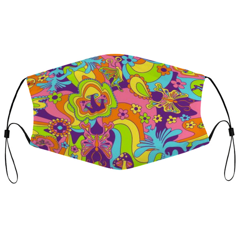 Groovy Shrooms Reusable Mask