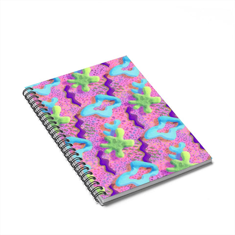 Saved by the Splat Spiral Notebook - Ruled Line