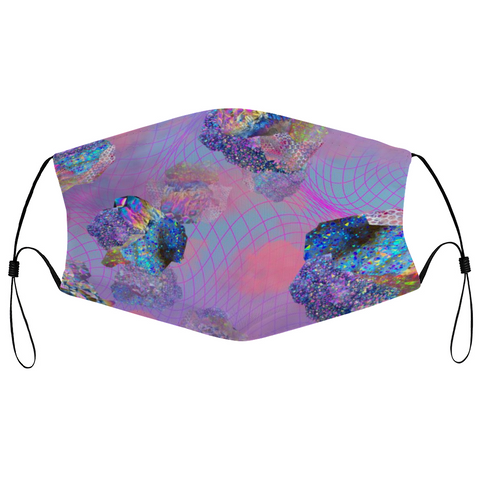 Crystal Clouds Reusable Mask