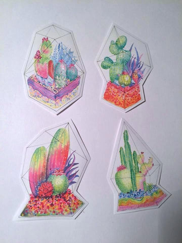 Terrarium Sticker Pack