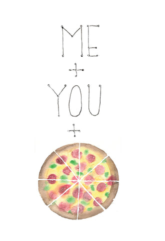 Pizza Valentine Math
