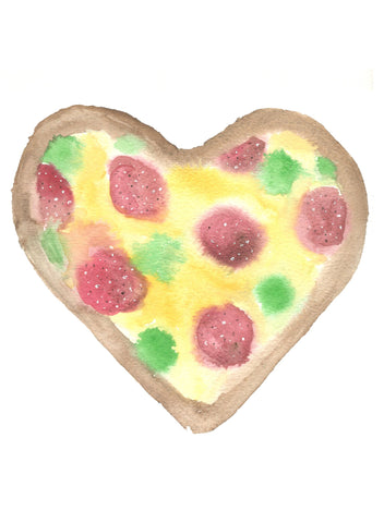 Pizza Valentine Pizza My Heart