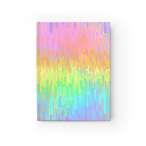 Rainbow Melt Journal - Blank