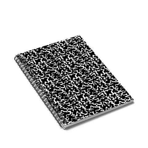 Rorschach Rodeo Spiral Notebook - Ruled Line